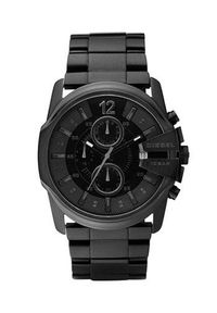 Diesel - Zegarek DZ4180. Kolor: czarny. Materiał: materiał