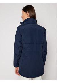 Niebieska kurtka przeciwdeszczowa Jack Wolfskin