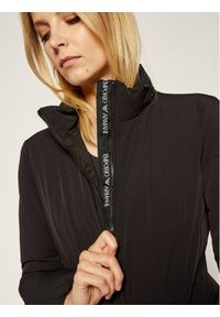 Czarna kurtka przejściowa Emporio Armani