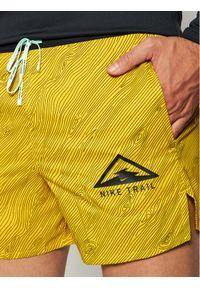 Żółte spodenki sportowe Nike #5