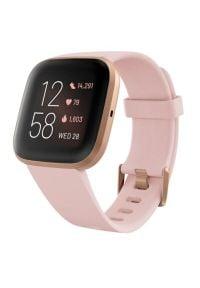 Różowy zegarek FITBIT smartwatch