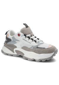 Cross Jeans - Sneakersy CROSS JEANS II2R4020C Biały/J.Szary/C.Szary. Kolor: biały, wielokolorowy, szary