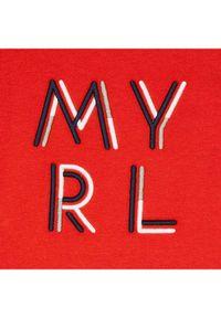 Mayoral T-Shirt 170 Czerwony Regular Fit. Kolor: czerwony