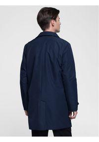 Niebieski płaszcz przejściowy #10
