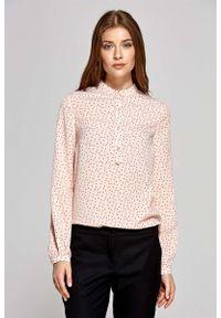 Różowa bluzka koszulowa Nife