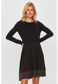 Czarna sukienka TwinSet na co dzień, mini, casualowa