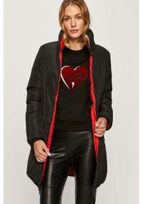 Czerwona kurtka Love Moschino bez kaptura, na co dzień, casualowa