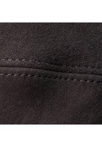 Stuart Weitzman - Muszkieterki STUART WEITZMAN - Helena 75 YL53456 Black Suede. Kolor: czarny. Materiał: zamsz, skóra. Szerokość cholewki: normalna. Obcas: na obcasie. Wysokość obcasa: średni