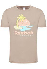 Reebok Classic - Reebok T-Shirt Unisex Classics Graphic GN3672 Szary Regular Fit. Kolor: szary