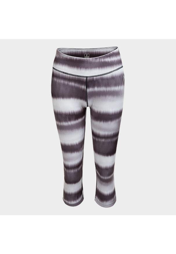 Wielokolorowe spodnie do fitnessu outhorn na wiosnę