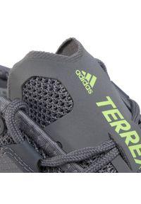 Szare buty do biegania Adidas Adidas Terrex, z cholewką