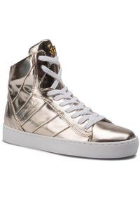 Złote buty sportowe Eva Minge