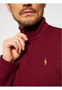 Polo Ralph Lauren Bluza Lsl 710671929020 Bordowy Regular Fit. Typ kołnierza: polo. Kolor: czerwony