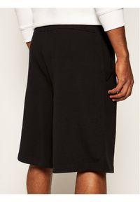Czarne spodenki sportowe Versace Jeans Couture