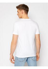 Lee Komplet 2 t-shirtów Twin Pack L62ECM12 Biały Fitted Fit. Kolor: biały
