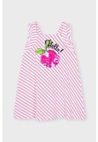 Sukienka Mayoral na ramiączkach, mini, trapezowa