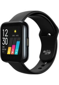 REALME - Smartwatch realme Watch 1 Czarny (RMA161). Rodzaj zegarka: smartwatch. Kolor: czarny