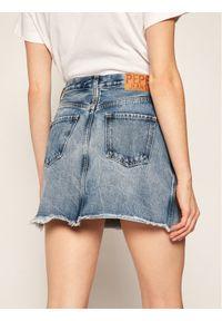 Niebieska spódnica mini Pepe Jeans