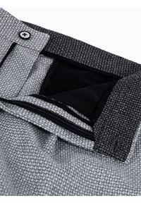 Szare spodnie Ombre Clothing casualowe, na co dzień