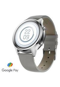 TICWATCH smartwatch C2+, Platinum Silver. Rodzaj zegarka: smartwatch. Kolor: srebrny