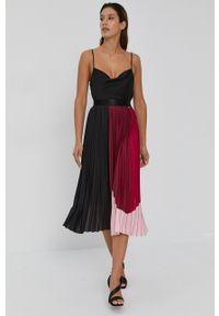 Nissa - NISSA - Spódnica. Okazja: na co dzień. Materiał: tkanina. Styl: casual