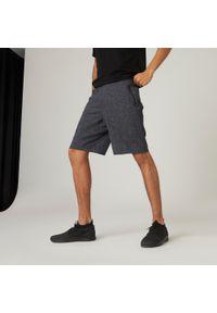 NYAMBA - Spodenki fitness męskie Nyamba. Materiał: bawełna, materiał, poliester. Wzór: ze splotem. Sport: fitness