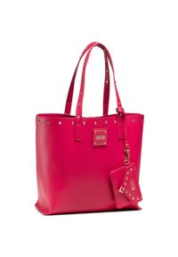 Versace Jeans Couture - Torebka VERSACE JEANS COUTURE - E1VWABE9 71407 401. Kolor: różowy. Materiał: skórzane. Styl: klasyczny