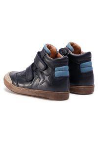 Froddo - Trzewiki FRODDO - G3110151 M Dark Blue. Kolor: niebieski. Materiał: skóra. Sezon: zima, jesień