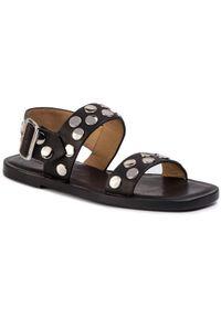 Czarne sandały Jil Sander Navy