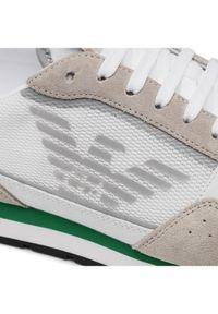 Emporio Armani Sneakersy X4X537 XM678 N494 Szary. Kolor: szary