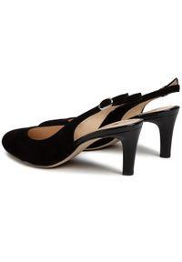 Czarne sandały HÖGL eleganckie #6