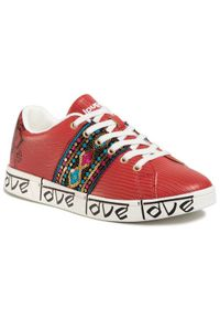 Czerwone buty sportowe Desigual