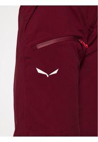 Czerwone spodnie sportowe Salewa narciarskie