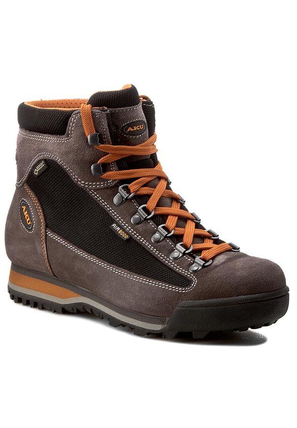 Brązowe buty trekkingowe Aku Gore-Tex, trekkingowe