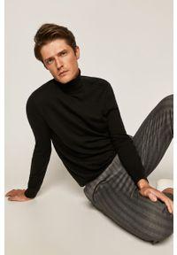 Czarny sweter Selected z długim rękawem, z golfem #6