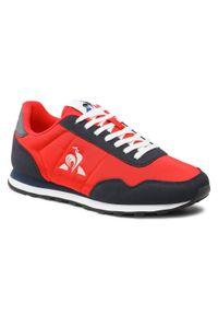 Czerwone buty sportowe Le Coq Sportif z cholewką