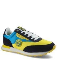 Big-Star - Sneakersy BIG STAR HH274525 Żółty/Niebieski. Kolor: wielokolorowy, żółty, niebieski