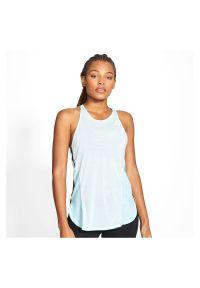 Koszulka damska treningowa Nike AeroAdapt CU5716. Materiał: poliester, materiał, bawełna. Długość rękawa: bez rękawów. Sport: fitness