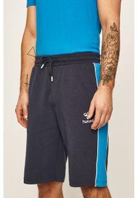 Niebieskie szorty Hummel na co dzień, sportowe