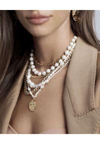 SELFIE JEWELLERY - Naszyjnik z pereł Integrity of Love. Materiał: złote. Kolor: biały. Kamień szlachetny: perła