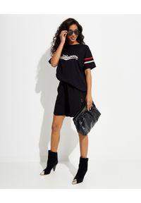 ONETEASPOON - Czarna koszulka z logo. Kolor: czarny. Materiał: bawełna. Wzór: nadruk, aplikacja #3