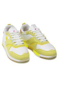 Scotch & Soda - Sneakersy SCOTCH & SODA - Vivi 22733726 Yellow Gold S33. Okazja: na co dzień. Kolor: wielokolorowy, żółty, biały. Materiał: materiał. Szerokość cholewki: normalna. Styl: casual