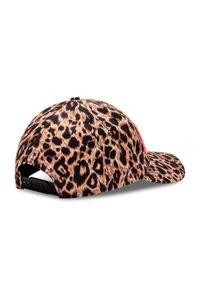 Brązowa czapka z daszkiem Versace Jeans Couture