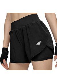 4f - Spodenki damskie do biegania 4F H4Z20-SKDF010. Materiał: dzianina, materiał, elastan, włókno, poliester. Sport: fitness