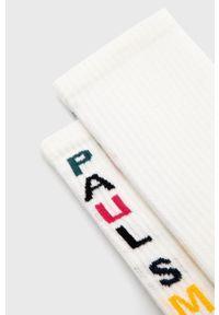 PS PAUL SMITH - PS Paul Smith - Skarpetki. Kolor: biały