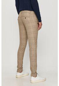 Only & Sons - Spodnie. Okazja: na co dzień. Kolor: beżowy. Materiał: tkanina. Styl: casual #3