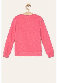 Różowa bluza Kids Only na co dzień, casualowa, bez kaptura #3