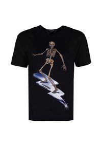 """Domrebel T-shirt """"Skelesurf"""". Okazja: na co dzień. Materiał: bawełna. Styl: casual"""