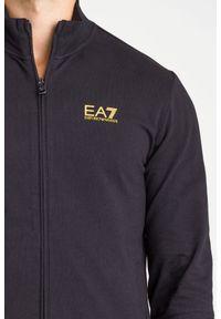 Spodnie dresowe EA7 Emporio Armani z nadrukiem