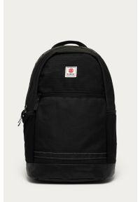 Czarny plecak Element gładki
